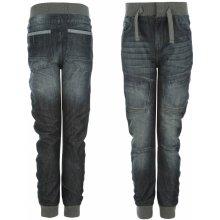 Airwalk Cuffed Jeans Junior Dark Wash