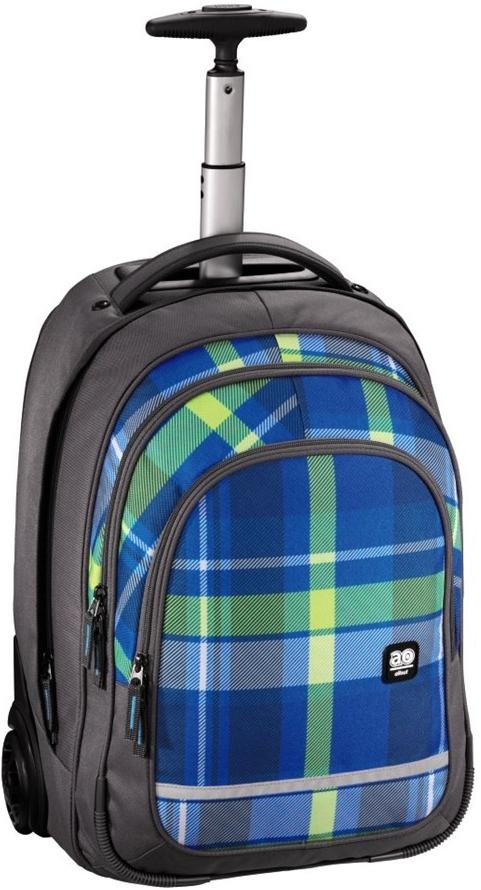 d54f118d1c All Out Trolley Woody modrá ruksak alebo ruksak na notebook na kolieskach