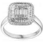iZlato Forever Exkluzívny zásnubný prsteň z bieleho zlata s baguette  diamantmi 1.220 ct IZBR694 7e2ad9d662a