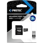 Pretec microSDXC 128GB UHS-I + adapter PC10MXC128G