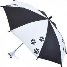 Fulton Detský holový dáždnik Junior-4 Panda C724