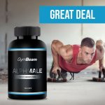 GymBeam AlphaMale TestoBooster 120 tabliet