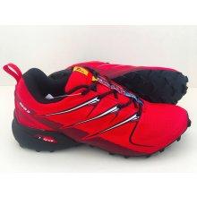Pánska trailová obuv 3481M3 Čierna Červená