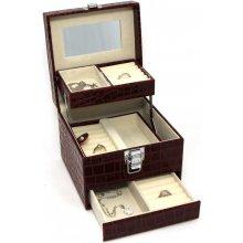 JKBox Bordo KVSWSP252-A10 šperkovnica