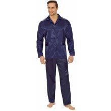 b66f6f37bd0d Charles pánské pyžamo dlouhé propínací satén