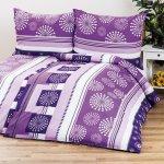 4Home bavlna obliečky Viola 140x200 70x90
