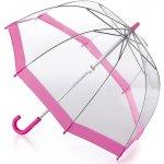 Fulton Detský priehľadný holový dáždnik Funbrella 2 Pink C603