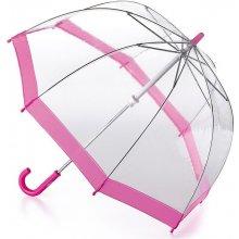 baae5486b Fulton Detský priehľadný holový dáždnik Funbrella 2 Pink C603