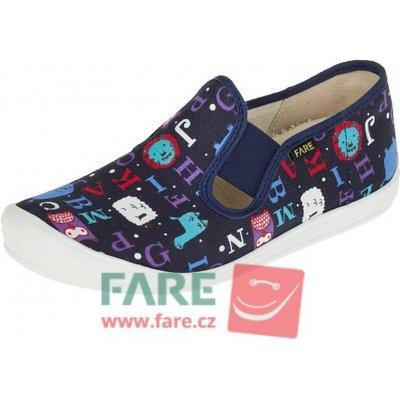 Fare dětské papuče na gumičku 4211408 tmavo modrá