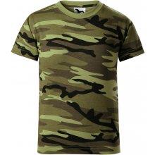 debd8b897a27 Adler Camouflage Detské tričko 14933 camouflage brown 158