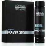 L'Oréal Homme Cover 5 Hair Color farba na vlasy pre mužov farba na vlasy 4 Medium Brown hnedá 50 ml