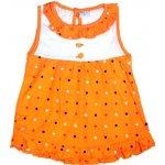 5d7b2b072eca Koala Detské letné šatôčky Tukan oranžové od 7