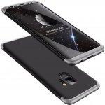 Púzdro FORCELL 360° Ochranné Samsung Galaxy S9 Plus strieborné