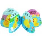 Baby Mix detská pískacia knižka do vody kačička