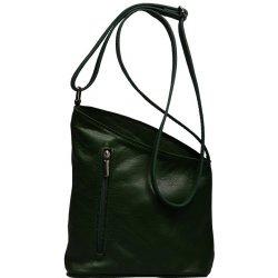 0379d30070 Zelená kožená kabelka Angola Verde alternatívy - Heureka.sk