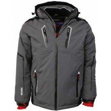 26a18374c Geographical Norway bunda pánska lyžiarska WARNING MEN 009 zimná tmavě šedá