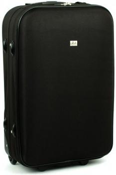4f6c9333191af Cestovná batožina David Jones 4010 kufor Černá 43x23x66 cm ...
