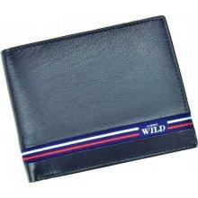 Always Wild pánska kožená peňaženka Blue Line 4f79c618044