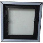 ACO Plastové pivničné okno IZO 40x40 cm, hnedé