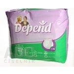 Prípravky na inkontinenciu Depend