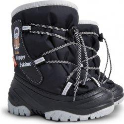 Demar Detské snehule Happy Eskimo C čierne