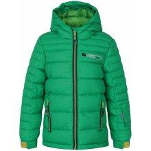 Loap chlapčenská lyžiarska bunda Ortel zelená