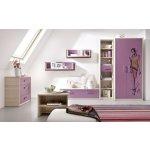 MALYS-GROUP Štýlový nábytok do detskej izby BREGI Zostava 16B