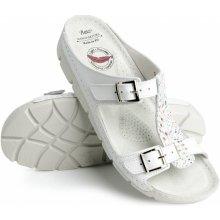 Batz dámske zdravotné šľapky Gaudi white a8cb4f15514