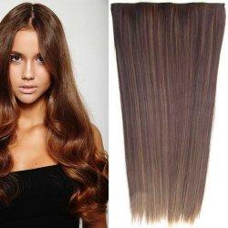 Clip in vlasy - 60 cm dlhý pás vlasov - odtieň - F6A 4 (melír ... 5c806fd8cb1