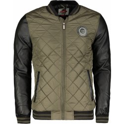 Lee Cooper Quilted bomber Jacket Mens Army Green Galéria ... 88ecac17848