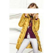 Heina Prešívaný žltý kabát B.C. žltá