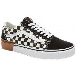 be991bb4265 Vans Boty Old Skool Gum Block Checkerboard Black White Gum černá   bílá
