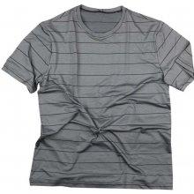 5bca99ba4 Pánske šedé tričko FAVAB IĽJA krátky rukáv