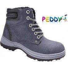 c63f5951f Peddy Detské boty pv-536-32-25 sivá