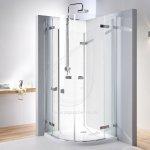 KOLO Next štvrťkruhový sprchovací kút 80 krídlové dvere otváranie von Reflex HKPF80222003
