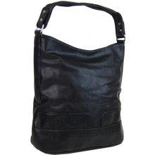 elegantná kombinovaná dámska crossbody kabelka NH6051 čierna e0891971115