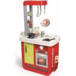 Smoby Kuchynka Bon Appetit elektronická červeno-zelená