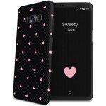 Púzdro i-Paint - HARD CASE Sweety Samsung Galaxy S8 čierne