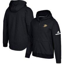 8359df71bff71 Adidas Mikina Anaheim Ducks Authentic Pro Squad ID Full-Zip Hood