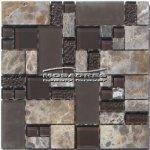 MOSAGRES MKS982 Mozaika sklo kámen Multix8 300x300x8mm