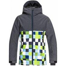 Quiksilver Chlapčenská bunda Sierra Youth Jk- zelená 7ce100f8ea9