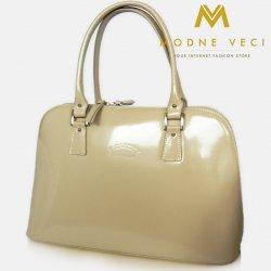 f784e522f7 luxusná kožená kabelka lakovaná TWR 14 béžová alternatívy - Heureka.sk