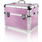 NeoNail Kozmetický kufrík XL vojde UV lampa Ružová