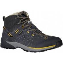 Garmont Santiago GTX M dark grey yellow pánské nepromokavé kožené trekové  boty 7dd5c71913