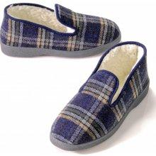Blancheporte Domáce papuče Jeva modrá