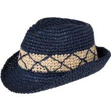 Myrtle Beach Letní pánský klobouk MB6702 Tmavě modrá   slámová f7286daab9