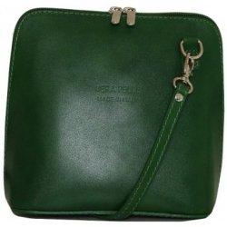 Malé Talianske kožené kabelky crossbody zelené Milana alternatívy ... 6d3059c1dd7
