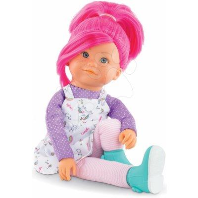 Corolle Bábika Nephelie Rainbow Dolls s hodvábnymi vlasmi a vanilkou ružová 38 cm