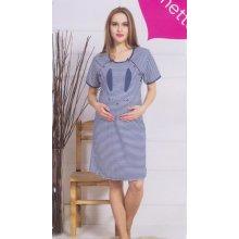 c00a3f052fbc tehotenská nočná košeľa pružkovaná zajko Top40