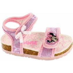cc1812d57dd1 Disney by Arnetta Dievčenské sandálky Minnie ružové od 19